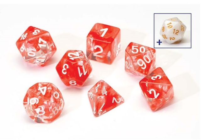 Dice Set - Red Cloud