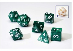 0102 Dice Set - Pearl Green