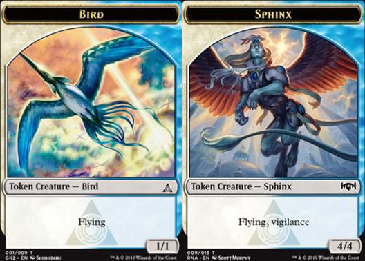 Bird Token (001) // Sphinx Token (009)