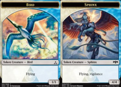 Bird Token (001) // Sphinx Token (009)