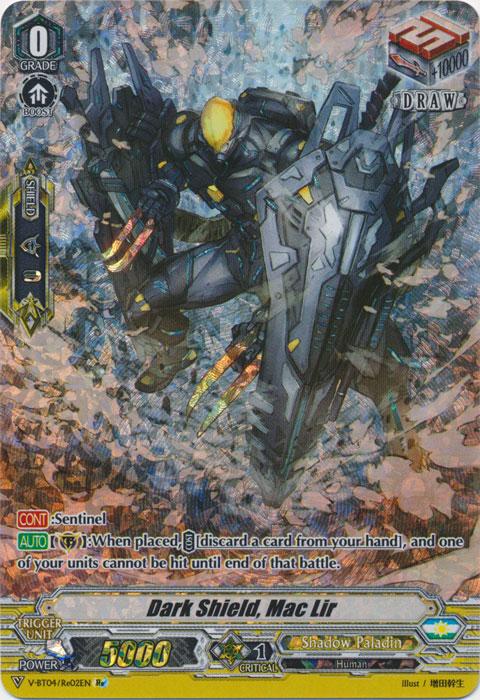 Dark Shield, Mac Lir - V-BT04/Re:02EN - SP