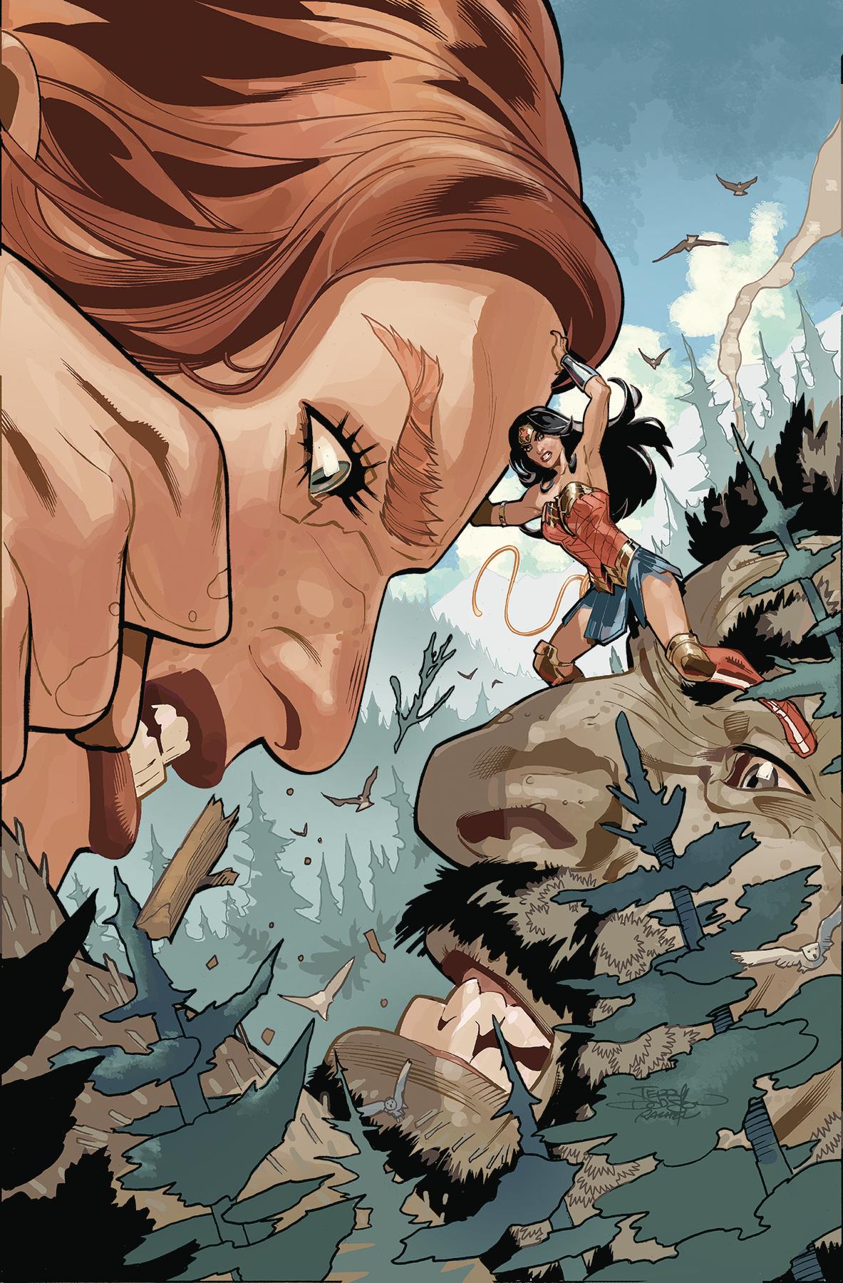 Wonder Woman #66 (STL111893)