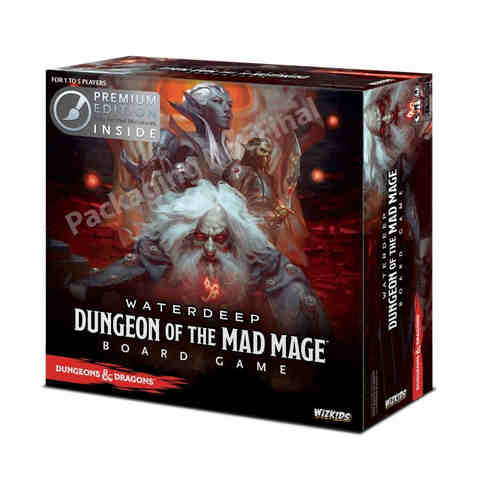 Dungeons And Dragons: Waterdeep: Dungeon Of The Mad Mage Adventure System Board Game - Premium