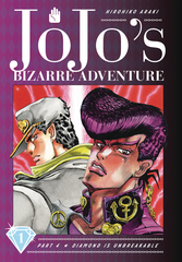 JoJo's Bizarre Adventure: Diamond Is Unbreakable Hardcover Vol 01