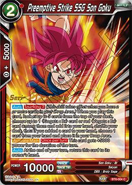 Preemptive Strike SSG Son Goku - BT6-004 - C - Pre-release