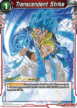 Transcendent Strike - BT6-025 - C - Pre-release