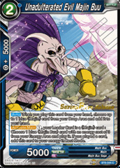 Unadulterated Evil Majin Buu - BT6-044 - C - Pre-release