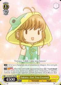 Sakura: Got You Covered - CCS/WX01-002 - RR