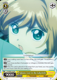 Sakura: Lost in the Labyrinth - CCS/WX01-010 - R