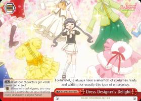 Dress Designers Delight - CCS/WX01-076 - CC