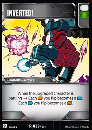 Inverted - Transformers TCG Singles » Season 2 - Rise of the