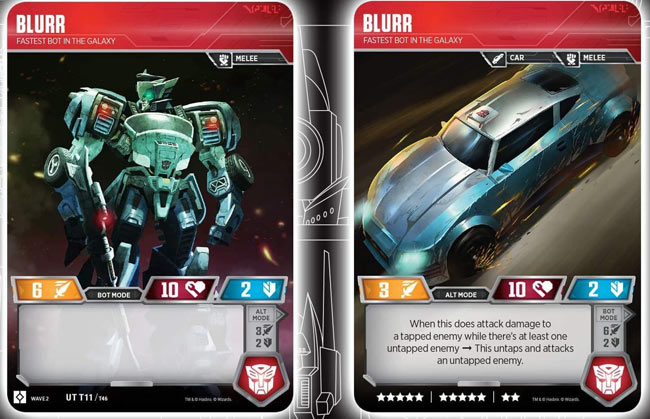 Blurr // Fastest Bot in the Galaxy