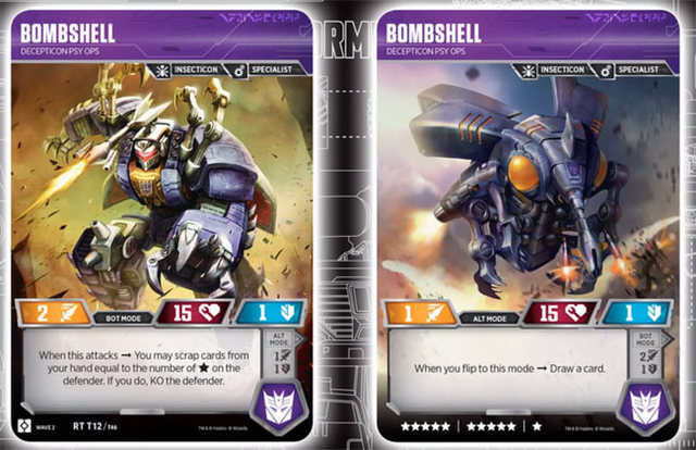 Bombshell // Decepticon Psy Ops