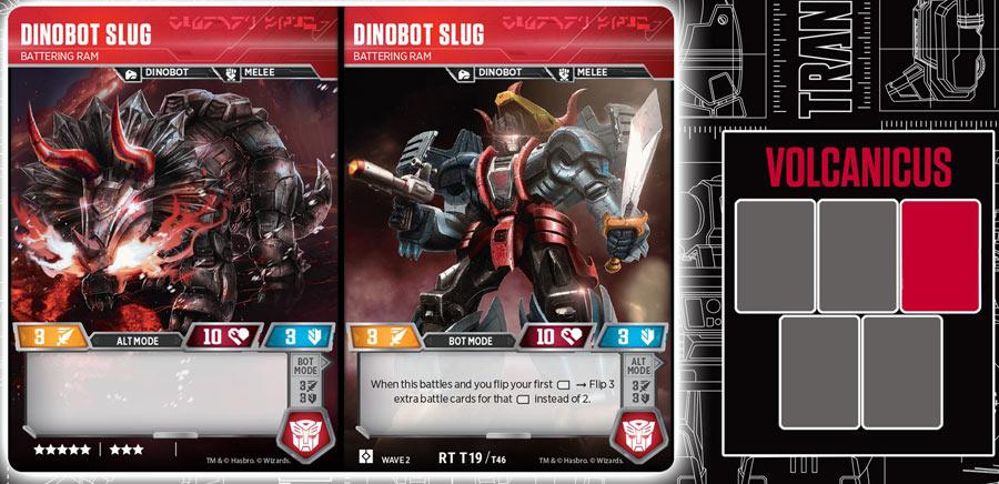Dinobot Slug // Battering Ram