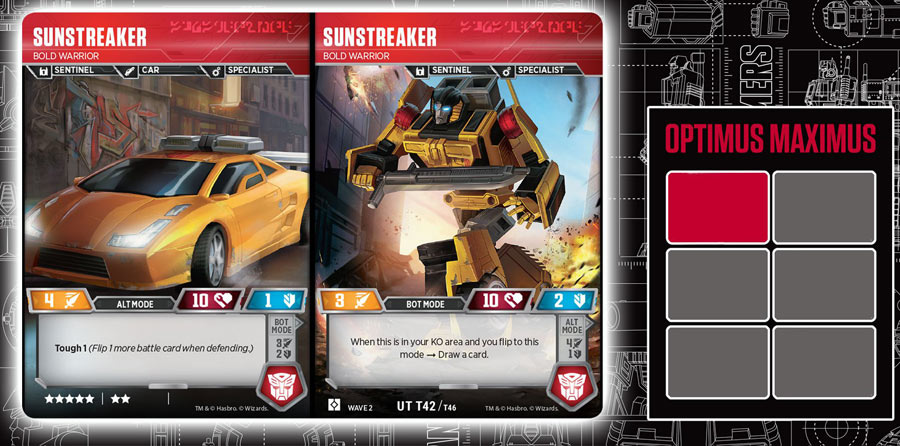 Sunstreaker // Bold Warrior