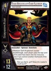 Dark Kryptonian - Foil