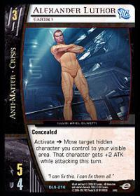 Alexander Luthor, Earth 3 - Foil