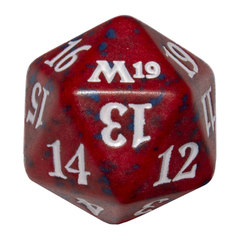 Magic Spindown Die - Core Set 2019 - Red