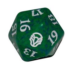 Magic Spindown Die - Dominaria - Green