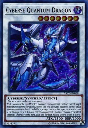 Cyberse Quantum Dragon - SAST-EN038 - Ultra Rare - Unlimited Edition
