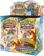 Sun & Moon - Unbroken Bonds Booster Box