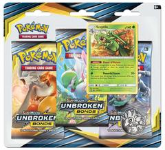 Sun & Moon - Unbroken Bonds 3 Pack Blister - Sceptile