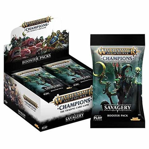 Warhammer Age of Sigmar: Champions - Savagery Booster Box