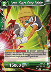 Lemo, Frieza Force Soldier - SD8-06 - ST - Parallel Foil