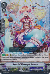 Special Message, Ourora - V-TD08/007EN - RRR - Foil on Channel Fireball