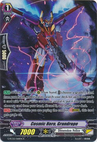 Cosmic Hero, Grandrope - G-RC02/068EN - R