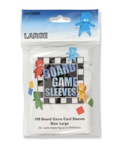Arcane Tinmen - Board Game Sleeves: Clear - Large