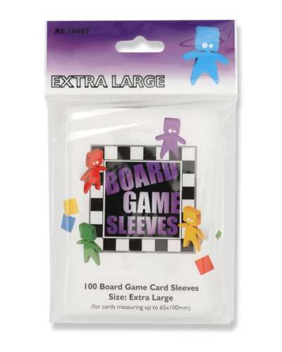 Arcane Tinmen - Board Game Sleeves: Clear - Extra Large