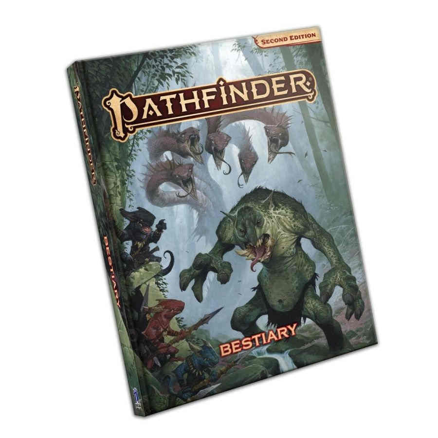 Pathfinder RPG (Second Edition): Bestiary - Standard Edition