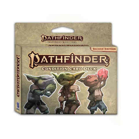 Pathfinder RPG (Second Edition): Condition Card Deck