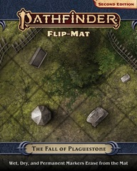 Pathfinder RPG (Second Edition): Flip Mat - The Fall of Plaguestone
