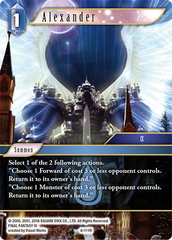 Alexander - 8-111R - Foil on Channel Fireball