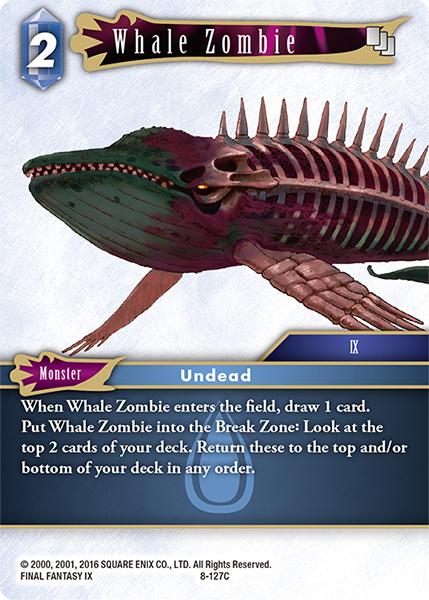 Whale Zombie - 8-127C - Foil