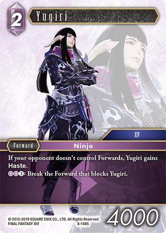 Opus 8 Fire Final Fantasy TCG Vivi 8-016H