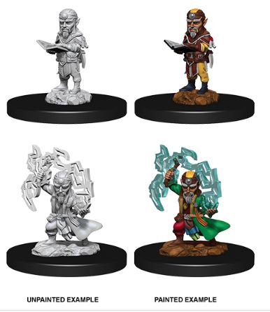 Pathfinder Battles Unpainted Minis - WAVE9 - Male Gnome Sorcerer