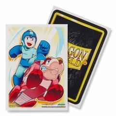 Dragon Shield 100ct Standard Sleeves - Classic Mega Man and Rush