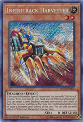 Infinitrack Harvester - INCH-EN001 - Secret Rare - 1st Edition