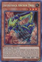 Infinitrack Anchor Drill - INCH-EN002 - Secret Rare - 1st Edition