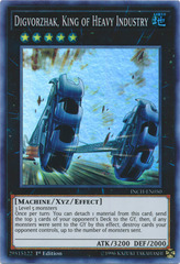 Digvorzhak, King of Heavy Industry - INCH-EN050 - Super Rare - 1st Edition
