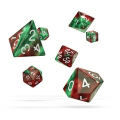 Oakie Doakie Dice - RPG-Set Gemidice Bloody Jungle