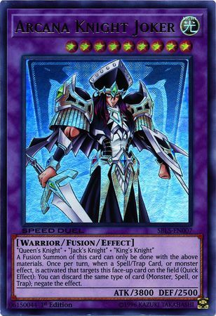 Super Rare 1st Edition SBLS-EN005 King/'s Knight