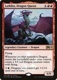 Lathliss, Dragon Queen - Foil - Media Promo