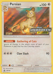 Persian - SM182 - Staff Prerelease Promo - SM Black Star Promo