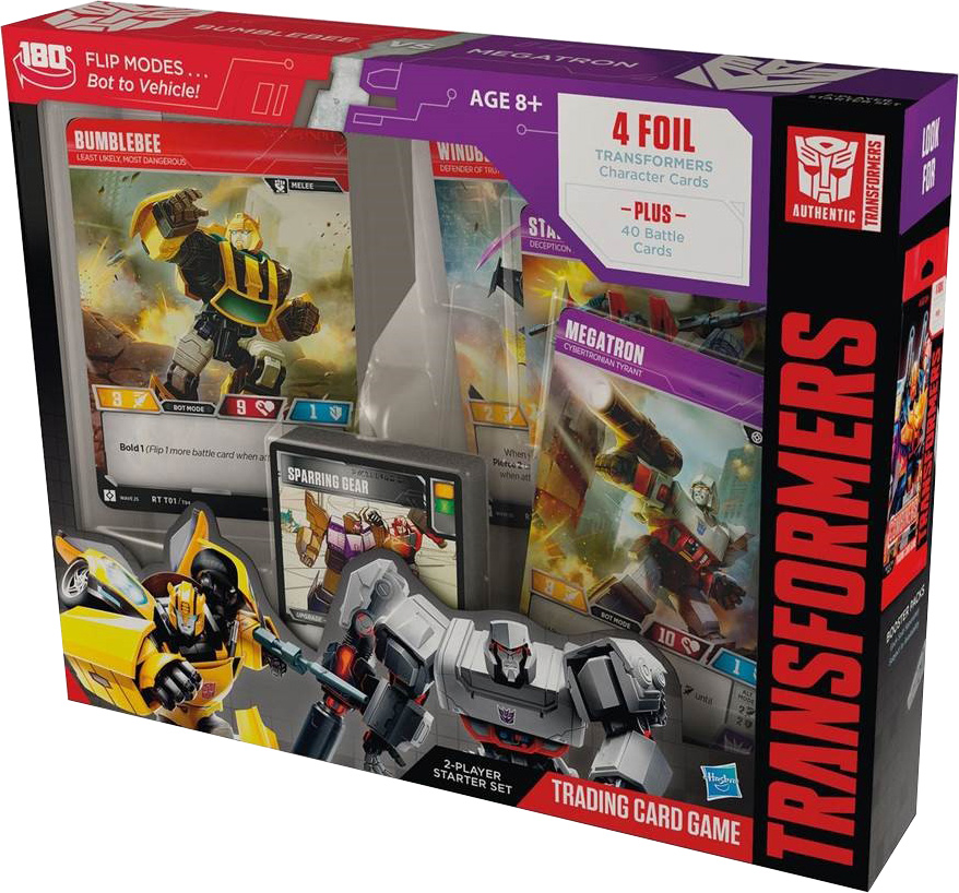 Bumblebee vs. Megatron Two-Player Starter Box