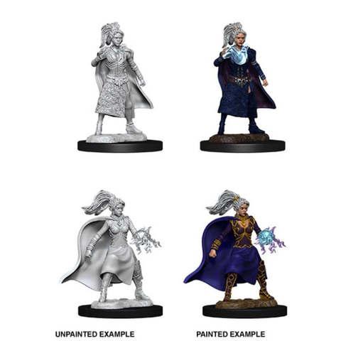 Nolzurs Marvelous Miniatures - Female Human Sorcerer (W10)