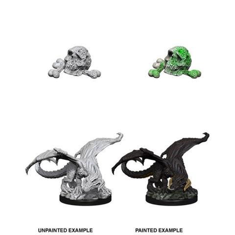 Nolzurs Marvelous Miniatures - Black Dragon Wyrmling